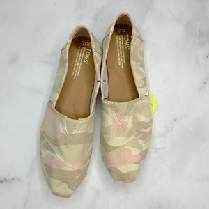 Toms Camo Slip On Shoes